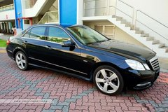 Long Term Lease: Mercedes E200