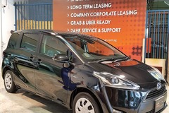 Long Term Lease: Toyota Sienta Hybrid