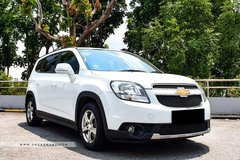 Long Term Lease: Chevrolet Orlando 1.4 Turbo