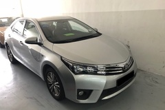 Long Term Lease: Toyota Altis(Current Generation)