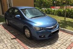 Long Term Lease: Honda Civic 1.3 Hybrid