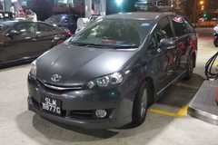 Long Term Lease: Toyota Wish 2017