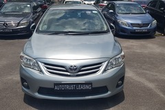 Long Term Lease: Toyota Altis 1.6 [2012]