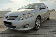 Long Term Lease: Toyota Corolla Altis 1.6