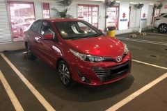 Long Term Lease: Toyota Vios 2019