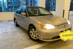 Long Term Lease: HONDA CIVIC 1.5A