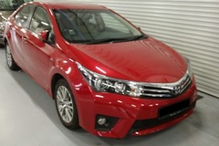 Long Term Lease: Toyota Altis (current generation)