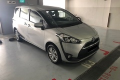 Long Term Lease: Toyota Sienta 1.5X 2019