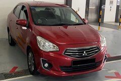 Long Term Lease: Mitsubishi Attrage