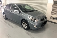 Rental: Hyundai Accent 2019