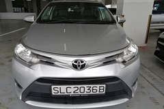 Long Term Lease: 2016 Toyota Vios 1.5A
