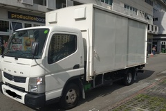 Rental: Mitsubishi Canter 14ft w Tailgate