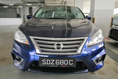 Long Term Lease: 11//2018 Nissan Sylphy 1.6A